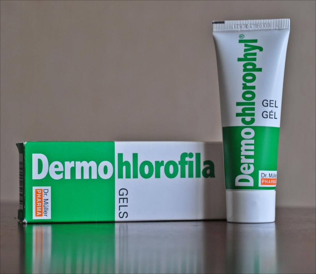 Dermo - hlorofila gēls