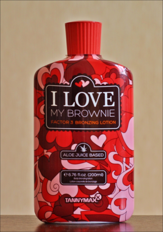 "Tannymaxx ""I love my brownie"""