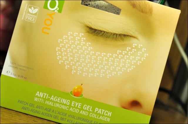 Bio2you atjaunojoša gēla maska ādai ap acīm ar hialuronskābi un kolagēnu