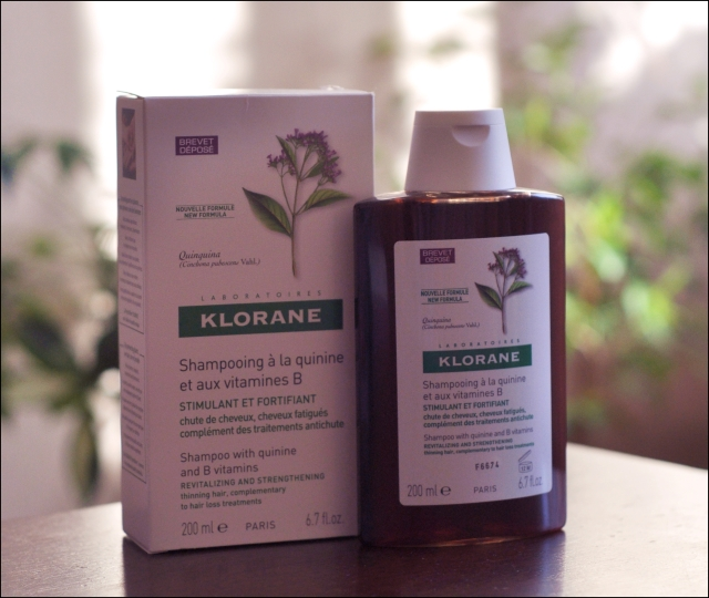 Klorane quinine and vitamin B shampoo